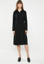 AMANDA LAIRD CHERRY - Bontle shirtdress - black