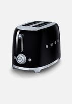 smeg - Retro 950w 2 slice toaster - black