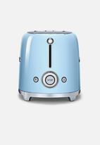 smeg - Retro 950w 2 slice toaster - pastel blue