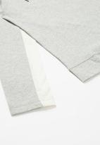 Nike - Nkb nike air lifestyle ls top - grey