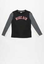 Nike - Nkb nike air lifestyle ls top - black