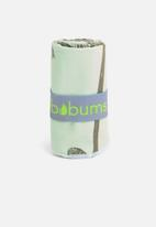 Bobums - Palm gym towel - green