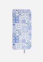 Bobums - Tile gym towel - blue