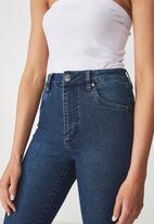 Cotton On - High rise skinny jeans - blue
