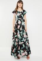 AMANDA LAIRD CHERRY - Katya maxi dress - multi