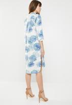 AMANDA LAIRD CHERRY - Lungro tunic dress - mutli