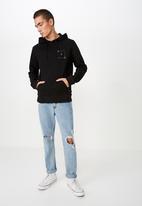 Cotton On - Fleece pullover - black