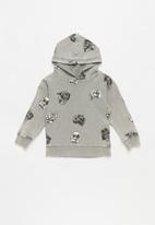 Cotton On - License hoodie - grey