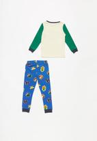 Cotton On - Harry boys long sleeve pyjama set - multi