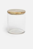 Sixth Floor - Wooden top storage canister