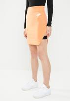 Nike - Nike air skirt - orange & white