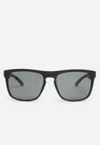 Jack & Jones - Pirma rectangular sunglasses - black