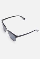Jack & Jones - Pirma clubmaster sunglasses - black