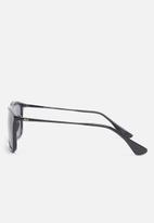 Jack & Jones - Pirma wayfarer sunglasses - black