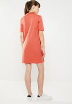 adidas Originals - Tee dress - orange
