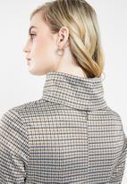 Superbalist - High neck shift dress - multi