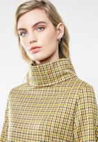 Superbalist - High neck shift dress - yellow
