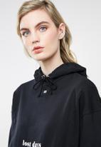 Superbalist - Longline hood - black