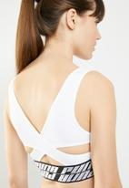 PUMA - DeLite bra sports performance - white