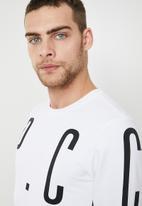 S.P.C.C. - Vision sweatshirt - white