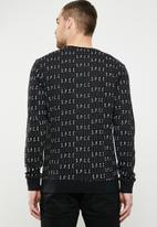 S.P.C.C. - The diplo sweatshirt - black