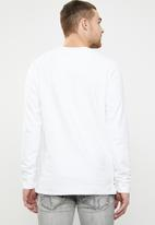S.P.C.C. - Box sweatshirt - white