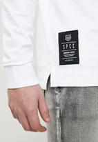 S.P.C.C. - Box sweatshirt - white