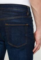 Superbalist - Slim abrasion jeans - blue