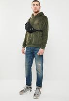 Brave Soul - Axel hooded sweatshirt - khaki