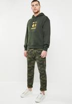 G-Star RAW - Togrul stor hooded long sleeve sweater - khaki