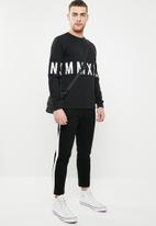 Only & Sons - Napoleon crew neck sweater - black