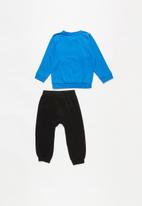PUMA - Minicats ESS jogger TR - black & blue