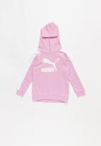 PUMA - Kids classics T7 Hoodie - pink