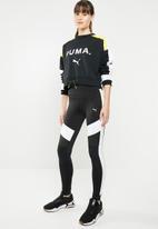 PUMA - Chase crew - black & white