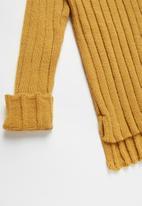 Rebel Republic - Teens ribbed knit - yellow