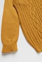 Rebel Republic - Teens rib knit - yellow