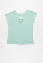 Roxy - Story goes  a tee - turquoise