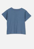 Cotton On - Jamie wow short sleeve tee - blue