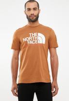 The North Face - Fine alpine short sleeve tee - tan