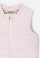 Cotton On - Courtney puffer vest - pink