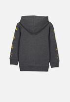 Cotton On - Liam hoodie - charcoal