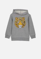 Cotton On - Liam hoodie - grey