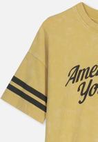 Cotton On - Skater short sleeve tee - yellow