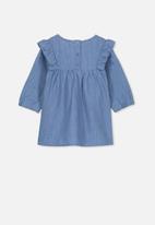 Cotton On - Matisse long sleeve dress - blue