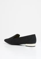 Call It Spring - Umeassa metallic heel loafer - black