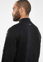 Pringle of Scotland - Liddell 1/4 zip sweatshirt - black