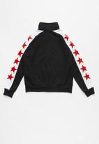 Converse - Converse All Star tricot track jacket - black