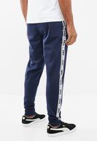 PUMA - Mens tape track pants - navy & white