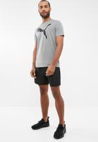 PUMA - Forever faster woven shorts - navy & white