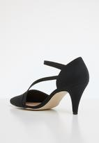 Call It Spring - Faux leather strappy stiletto pump - black